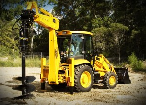 Backhoe Auger Transport Melbourne