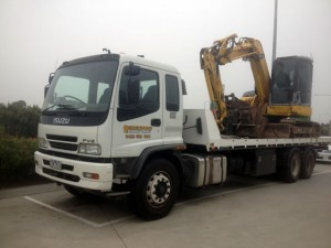 Earthmoving Machinery Transport Melbourne