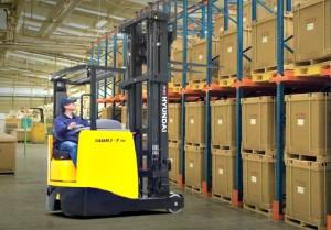 High Reach Forklift Transport Melbourne
