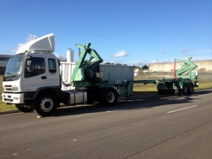 Side Loader Transport Service Melbourne